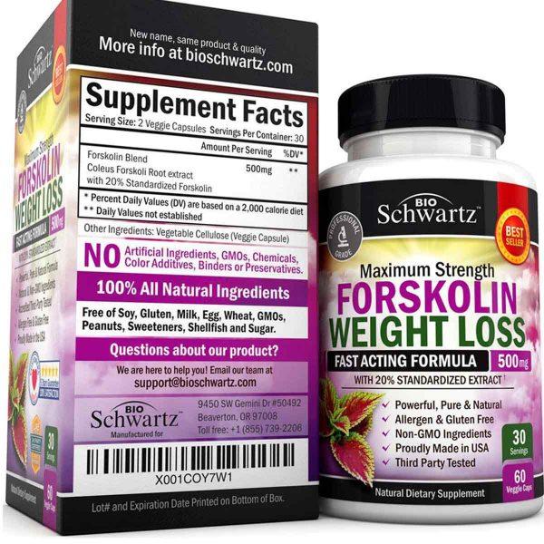bio-schwartz-forskolin-weight-loss-supplement-facts